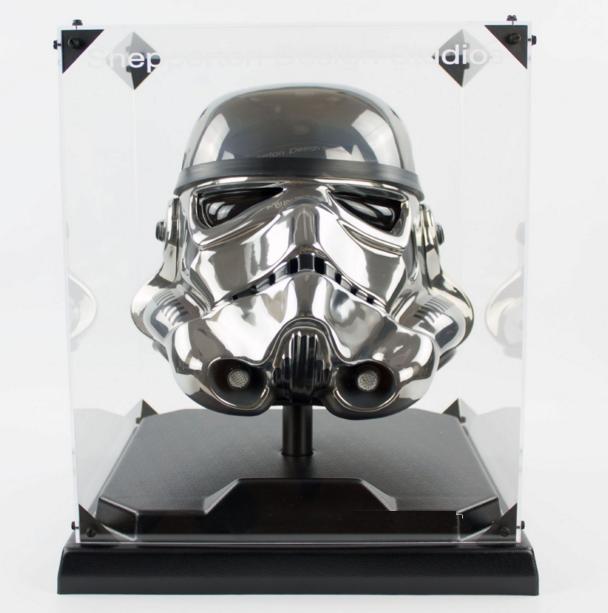 Casque Stormtrooper Chrome