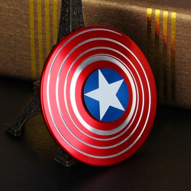 Nouveau-Captain-America-Doigt-Spinner-Fidget-Jouet-En-Plastique-EDC-Main-Spinner-Pour-L-autisme-et