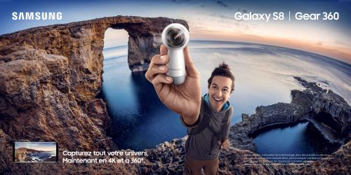 Camera-Samsung-Galaxy-Gear-360-Blanche-Nouvelle-Generation